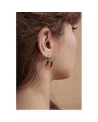 Boucles d'oreilles BOREAL Hipanema en coloris Red