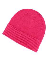 Bonnet femme cachemire Slubo Galeries Lafayette en coloris Pink