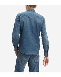 Chemise en jean Bartsow Western Levi's pour homme en coloris Blue