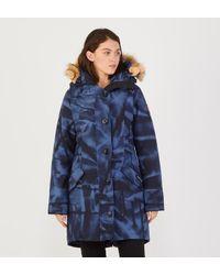 Parka Rossclair Canada Goose en coloris Bleu Lyst