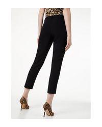 Pantalon chino avec fentes Liu Jo en coloris Black
