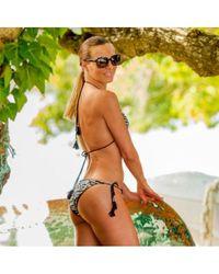 Bas de maillot de bain Carla-Bikini en coloris Black