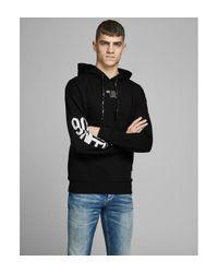 Sweat à capuche Sweat-shirt basique Jack & Jones pour homme en coloris Black