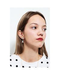 - Boucles D'oreilles Blanche Neige N2 en coloris Multicolor