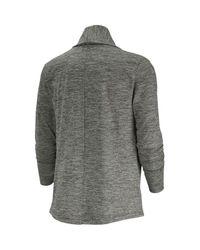 Gilet mi-long yoga collection Nike en coloris Gray