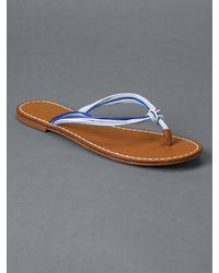 Gap - Blue Multi-rope Flip Flops - Lyst