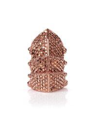 Vivienne Westwood - Regent Ring Pink Gold - Lyst