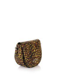 Vivienne Westwood - Leopard 190039 Shoulder Bag Yellow - Lyst