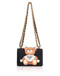 Moschino | Bear Square Shoulder Bag Black | Lyst