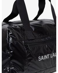 Borsa a Mano Nuxx Duffle di Saint Laurent in Black da Uomo
