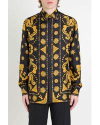 Camicia Bandana di Versace in Multicolor da Uomo