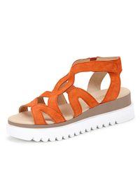 Gabor Orange Sandale