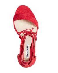 Windsor Smith - Idina Heel Phoenix Red - Lyst