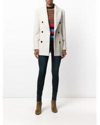Isabel Marant   Multicolor Eley Wool And Alpaca Coat   Lyst