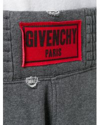 Givenchy Multicolor Logo Patch Shorts for men