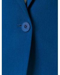 Stella McCartney Blue Mattea Blazer