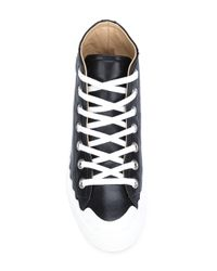 Chloé Blue Kyle Leather Sneakers for men