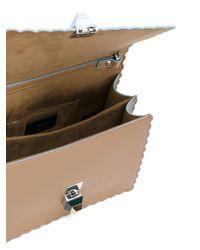 Fendi | Multicolor Kan I Leather Crossbody Bag | Lyst