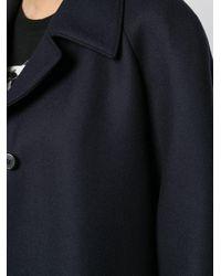 Cappotto monopetto di Prada in Blue