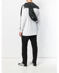 Marcelo Burlon Black Logo Waist-belt Bag for men