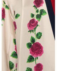 Gucci - Multicolor Rose Garden Print Cardigan - Lyst