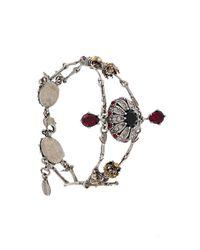 Alexander McQueen | Multicolor Bee Embellished Bracelet | Lyst