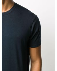 T-shirt a girocollo di Tom Ford in Blue da Uomo