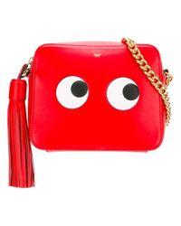 Anya Hindmarch Red Geisha Circus Cross-body Bag