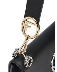 Fendi Black Kani Shoulder Bag