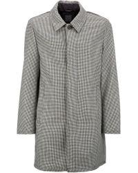 Geox - Gray Men's Coat for Men - Lyst