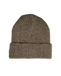 Vero Moda Metallic Glama Beanie Hat