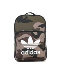 Adidas Originals Multicolor Classic Camo Backpack for men