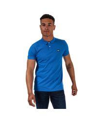 Weekend Offender Blue Barnum Polo Shirt for men