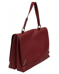 Orciani - Red ORCIANI BORSA PELLE ROSSA - Lyst