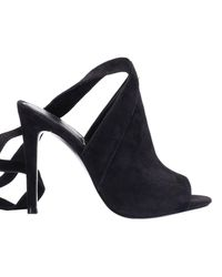 Kendall + Kylie Black Heeled Sandals Shoes Women
