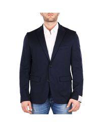 Paolo Pecora Blue Jacket Men for men