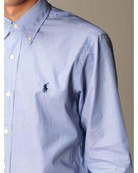 Polo Ralph Lauren Blue Shirt for men
