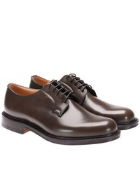 Church's Green Shannon Derby Shoes Laced With Goodyear Processing for men