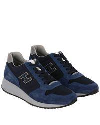 Hogan Blue Shoes Men for men