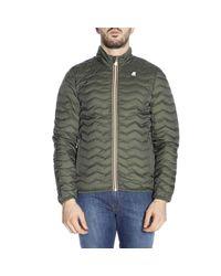 K-Way - Green Jacket Men for Men - Lyst