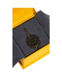 Fendi   Metallic Jewel Charming Letter O   Lyst