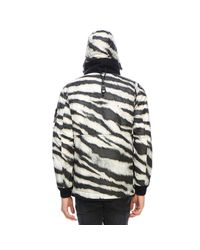 Stone Island Multicolor White Tiger Camouflage Jacket for men