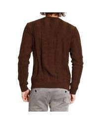Versace | Brown Versace Men's Sweater for Men | Lyst