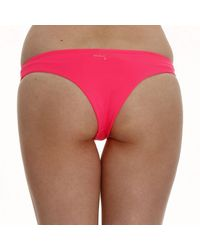 Patrizia Pepe - Pink Swimwear Slip Fluo - Lyst