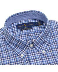 Polo Ralph Lauren Blue Shirt Men for men