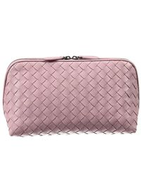 Bottega Veneta | Natural Women's Clutch | Lyst