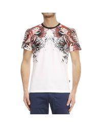 Just Cavalli | White T-shirt for Men | Lyst