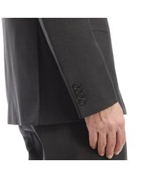 Z Zegna - Black Abito Drop 7 2 Bottoni Natural Comfort Tropical Wool 230gr for Men - Lyst