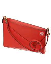 Loewe - Red Handbag Woman - Lyst