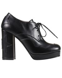Pinko   Black Heeled Booties Shoes Woman   Lyst